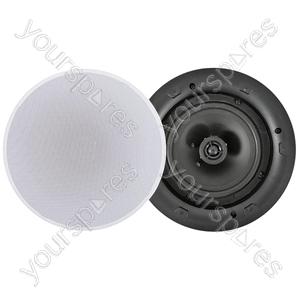 """2 Way Low Profile 100V Line Ceiling Speakers - 6.5"""" - LP6V"""