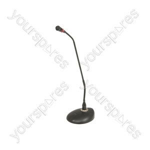 Conference/Paging Microphone with Base - LED collar - COM47