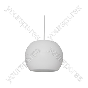 """PS Series Pendant Speakers - Wide Angle - 12.5cm (5"""") white - PS50-W"""