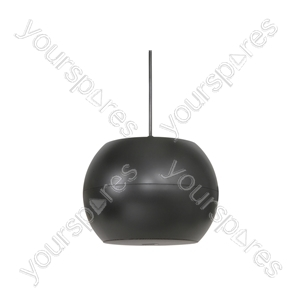 "PS Series Pendant Speakers - Wide Angle - 12.5cm (5"") black - PS50-B"