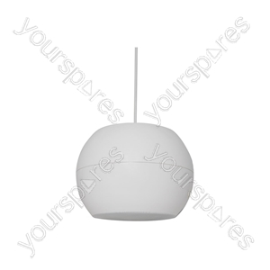 """PS Series Pendant Speakers - Wide Angle - 16.5cm (6.5"""") white - PS65-W"""
