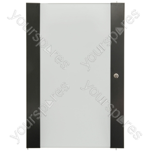Lockable Toughened Glass Doors - - 20U