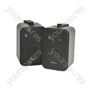 100V Line Background Speakers - 30W black - pair - B30V-B