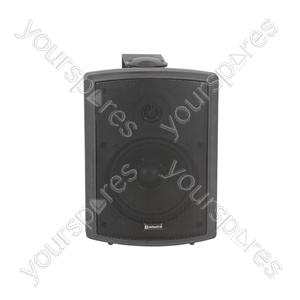 FS Series High Performance Foreground Speakers - FSV-B speaker, 100V line, 8 Ohm, 65W rms, black