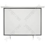 "Electric Projector Screens - 86"" 4:3 Motorised - EPS86-4:3"