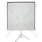 """84"""" Manual Tripod Projector Screen - 1:1 - TPS84-1:1"""