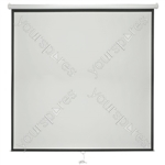 "Manual Projector Screens - 84"" 1:1 - MPS84-1:1"