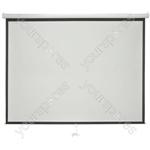 """Manual Projector Screens - 100"""" 4:3 - MPS100-4:3"""