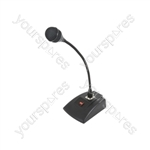 Dynamic Paging Microphone with Base - COM40 and