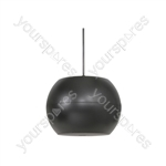 """PS Series Pendant Speakers - Wide Angle - 12.5cm (5"""") black - PS50-B"""