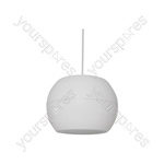 "PS Series Pendant Speakers - Wide Angle - 16.5cm (6.5"") white - PS65-W"