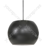 "PS Series Pendant Speakers - Wide Angle - 16.5cm (6.5"") black - PS65-B"