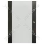 Lockable Toughened Glass Doors - - 28U