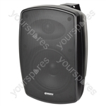BHV Series IP44 Background Speakers 100V - BH6V-B Black