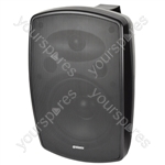 BHV Series IP44 Background Speakers 100V - BH8V-B Black