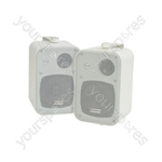 100V Line Background Speakers - 30W white - pair - B30V-W