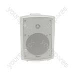 FS Series High Performance Foreground Speakers - FSV-W speaker, 100V line, 8 Ohm, 65W rms, white