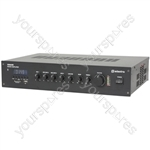 RM series 5-channel 100V mixer amplifier with Bluetooth® - RM60B mixer-amp