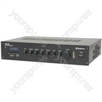 RM series 5-channel 100V mixer amplifier with Bluetooth® - RM120B mixer-amp