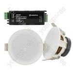 Ceiling Speakers and In-wall Amplifier Package - SL3 + IW30B - SL3-BT