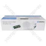 Ceiling Speakers and In-wall Amplifier Package - SL4 + IW60B - SL4-BT