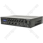 100V Mixer Amplifier with 4-zone Paging - RM244V Mixer-amp