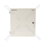 SA180 Secure Wall Mixer-Amplifier with Media Player & UHF Mic - +UHF