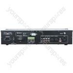 2-zone Mixer-amplifier + USB/SD/FM/Bluetooth® - RM1202 120W USB/SD/FM/BT