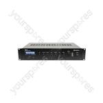 RM series 5-channel 100V mixer amplifier - RM120 Mixer-Amplifier