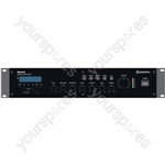 RM series 5-channel 100V mixer amplifier - RM240S Mixer-Amplifier