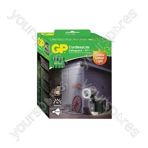 GP Outdoor Battery Powered PIR Flood Light - RF1
