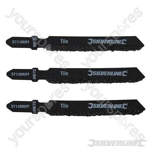 Jigsaw Blades For Ceramics 3pk St130 Riff 228749 By