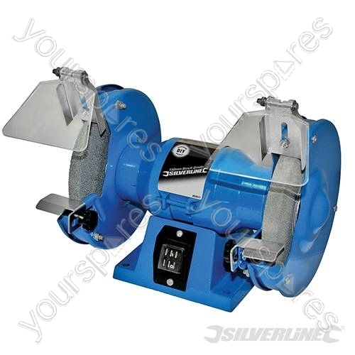Diy 150w Bench Grinder 150mm 263511 By Silverline