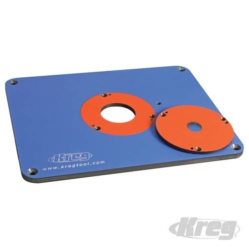 Precision router table insert plate prs3030 957411 by kreg precision router table insert plate prs3030 greentooth Choice Image