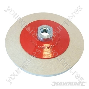 Bevelled Felt Buffing Wheel - 115mm