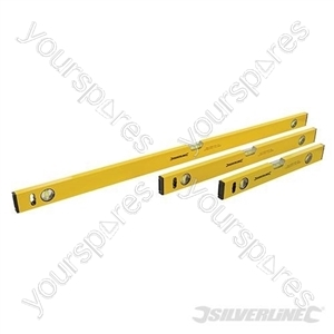 Builders Level Set 3pce - 400, 600 & 1000mm