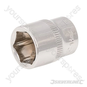 "Socket 1/4"" Drive 6pt Metric - 14mm"