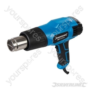 DIY 2000W Heat Gun - 550ºC