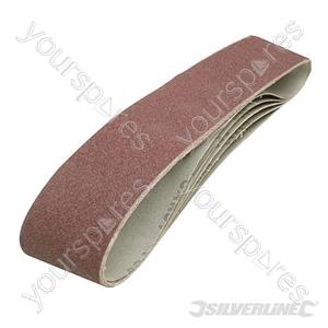 Sanding Belts 100 x 915mm 5pk - 80 Grit
