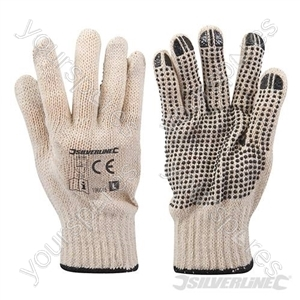 Single-Sided Dot Gloves - Large