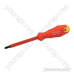 Insulated Soft-Grip Screwdriver Phillips - PH2 x 100mm