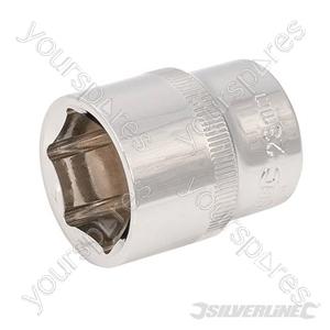 "Socket 1/2"" Drive 6pt Metric - 23mm"