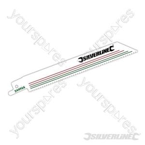 Recip Saw Blades for Demolition 5pk - Bi-Metal - 10tpi - 150mm