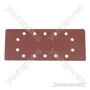 1/2 Sanding Sheets Punched 10pk - 80 Grit