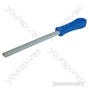 Carbide Grit File Half-Round - 150mm