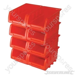Stacking Boxes Set 8pce - 165 x 105 x 75mm