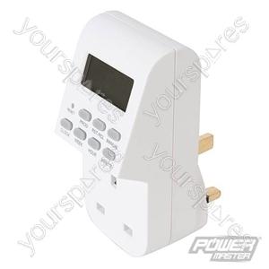 Plug-In Digital Timer - 7 Day