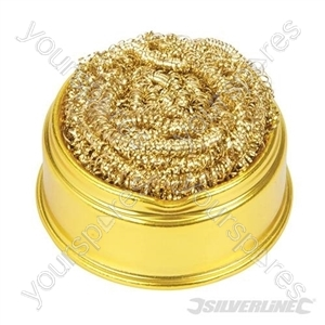 Soldering Tip Cleaning Ball & Base - 60 x 60mm