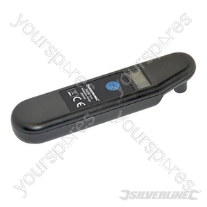 Digital Tyre Pressure Gauge - 2 - 99.5psi (0.15 - 7bar)
