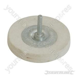 Felt Wheel - 100mm - Medium
